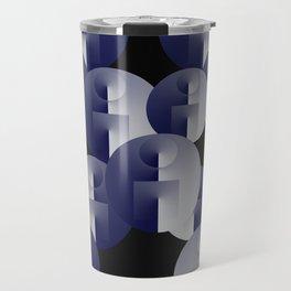 Round Spheres Travel Mug