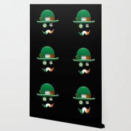 Irish Flag Face. Wallpaper