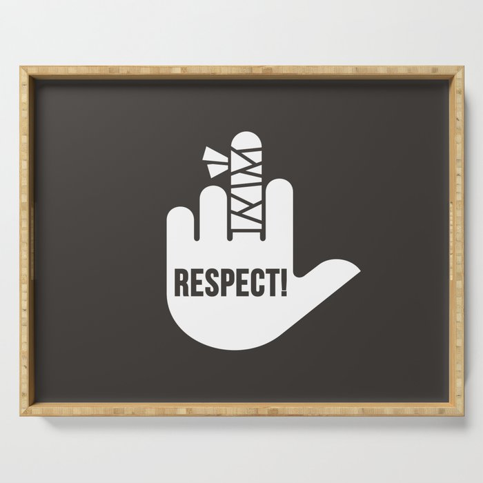 Respect Serving Tray