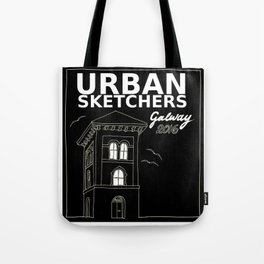 Urban sketchers Galway 2016 Tote Bag