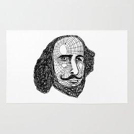 William Shakespeare Rug