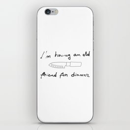 Silence of the Lambs. Quotes. Hannibal iPhone Skin