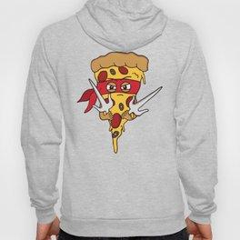Red Ninja Pizza Hoody