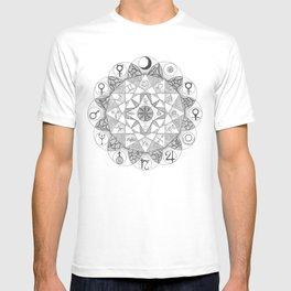 Zodiac Mandala T-shirt