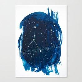 Cancer Zodiac Print Canvas Print