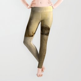 A Serene Life 1D - by Kathy Morton Stanion Leggings