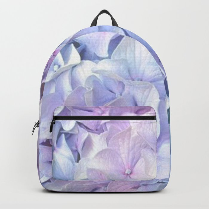 Soft Pastel Hydrangea Backpack