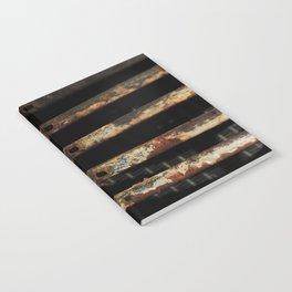 Detail: Rusted International 1 Notebook