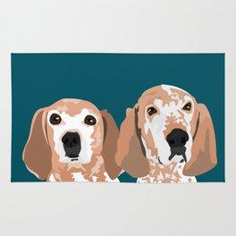 Molly and  Elwood Rug
