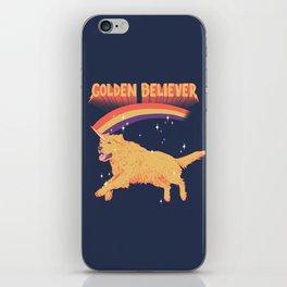 Golden Believer iPhone Skin