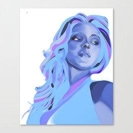 PeriwinkELLE Canvas Print