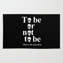 To be or not to be Rug