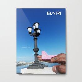 TAVEL TO BARI Metal Print