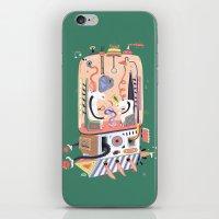 submarine iPhone & iPod Skins featuring submarine laboratory by Jakub Bachorík