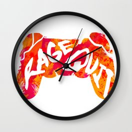 Rage Quit Wall Clock