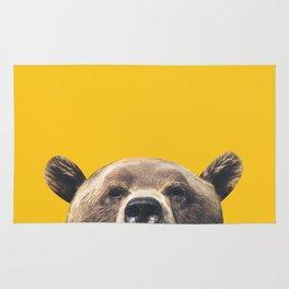 Bear - Yellow Rug