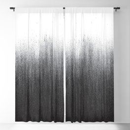 Charcoal Ombré Blackout Curtain