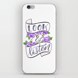 Look & Listen My Favorite Murder quote iPhone Skin