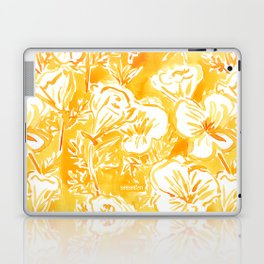 CALI POP Yellow California Poppies Laptop & iPad Skin