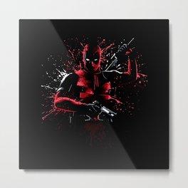 Dead Bloody Ninja Metal Print
