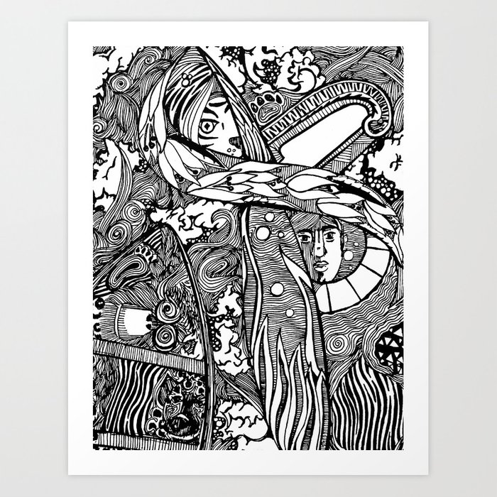 Marooned | Limited Edition of 50 Prints Art Print