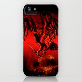 SWITCHBLADE VULTURE iPhone Case