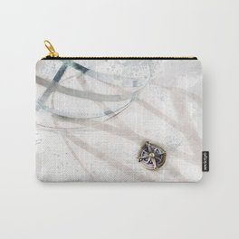 Compass & Sphere Carry-All Pouch