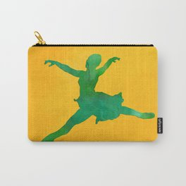 AP124 Watercolor dancer Carry-All Pouch