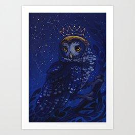 Crown of Stars Art Print