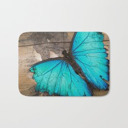 Weathered wings Bath Mat