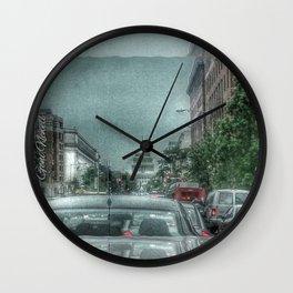 DC Traffic Wall Clock