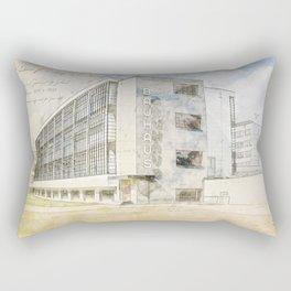 Bauhaus Building, Dessau Germany Rectangular Pillow