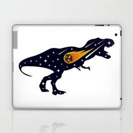 Dinosaur and meteorite strike #society6 #decor #buyart #artprint Laptop & iPad Skin