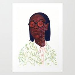 bloom / no background Art Print