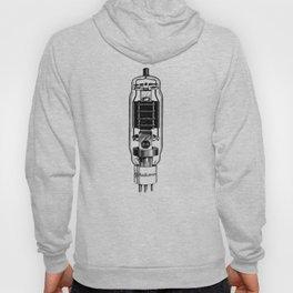 vacuum tube, vintage electronics, radio tube 814, art deco style Hoody