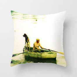 Little Harbor, Marblehead, MA Throw Pillow