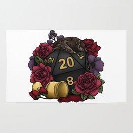 Vampire D20 Tabletop RPG Gaming Dice Rug