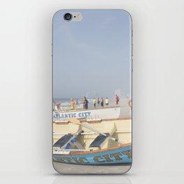Atlantic City Lifeboats iPhone Skin