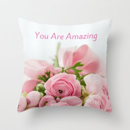 Acts of Love Throw Pillow