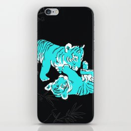 Oriental mini tigers iPhone Skin