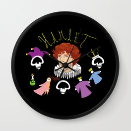 Hamlet - Prince of Denmark Wall Clock