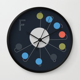 F-Clock Wall Clock