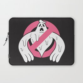 NO GHOST DRIP Laptop Sleeve