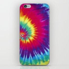 Tie dye hippie iPhone Skin