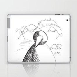 Metaphysical Penguin of Kilimanjaro 1 Laptop & iPad Skin