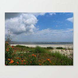 East  Beach -  Golden IIes Canvas Print