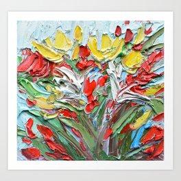 Fall Garden Art Print