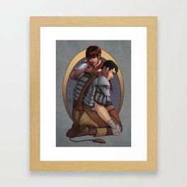 Berserk - Casca & Guts Framed Art Print