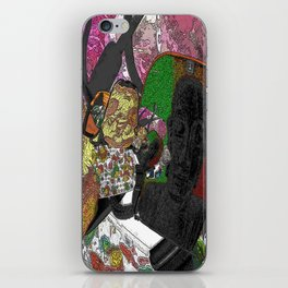Whacky Bags pattern iPhone Skin