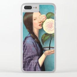 Mayflower Clear iPhone Case
